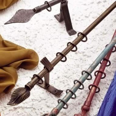 Punto Tenda Online Tende da interno Modena. Vendita, produzione e montaggio di bastoni per tende in ferro battuto.